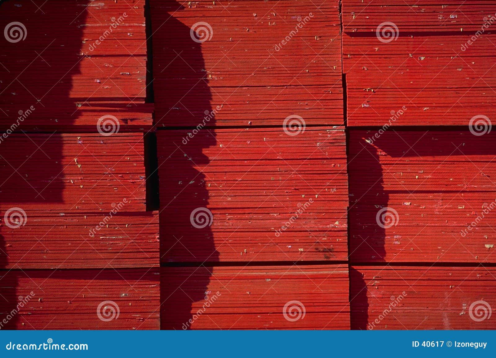 A madeira compensada termina o Close-Up