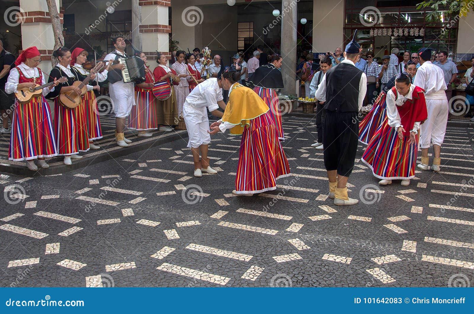 Madeiran民间舞