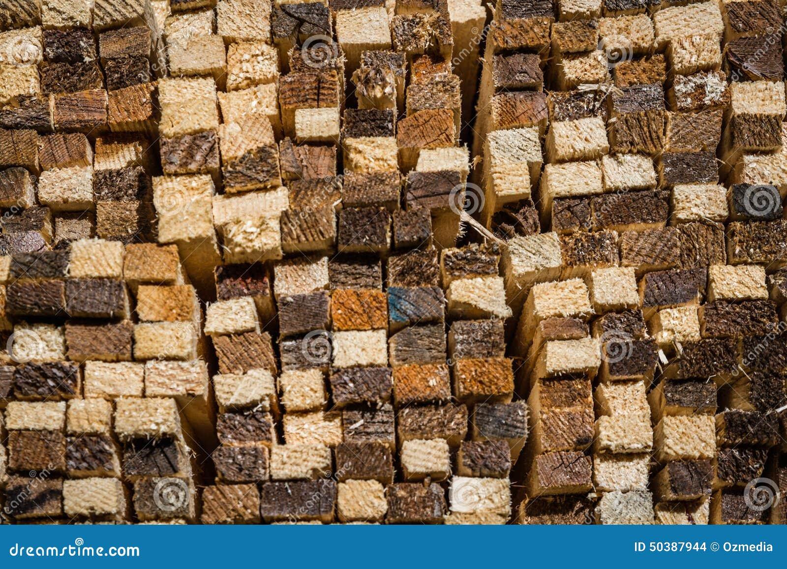 Madera de madera apilada del pino foto de archivo imagen - Maderas del pino ...