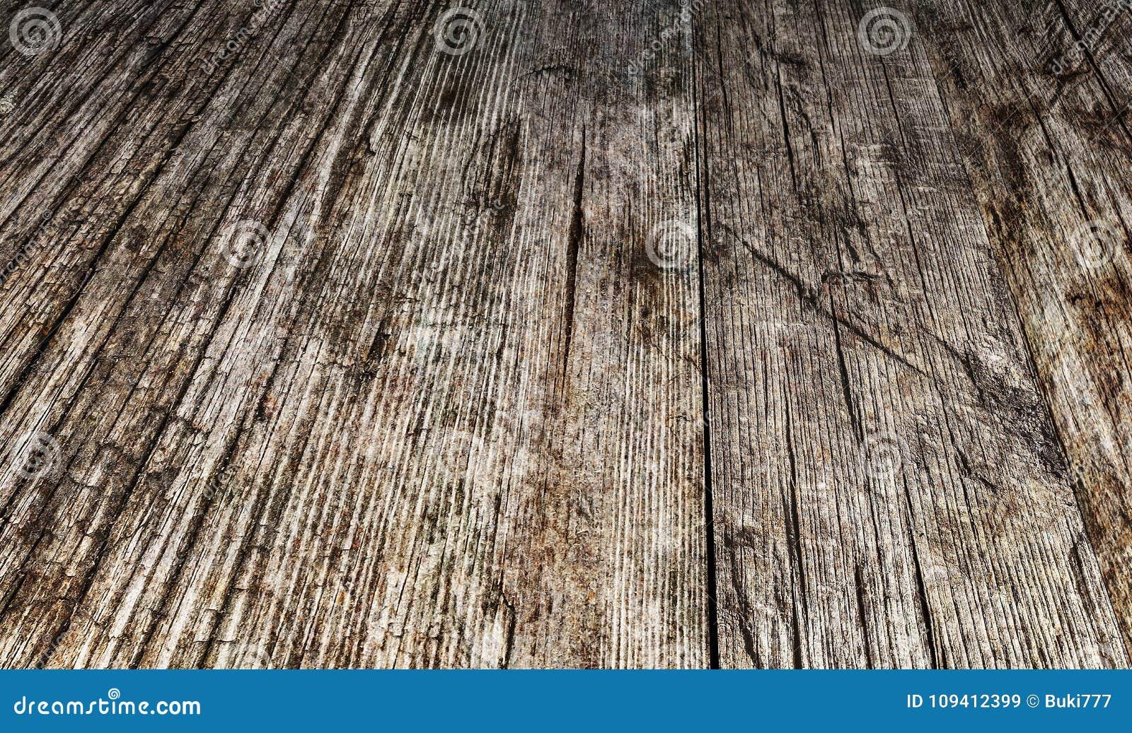 Madera de pino anudada agrietada estropeada resistida vieja de alta resolución