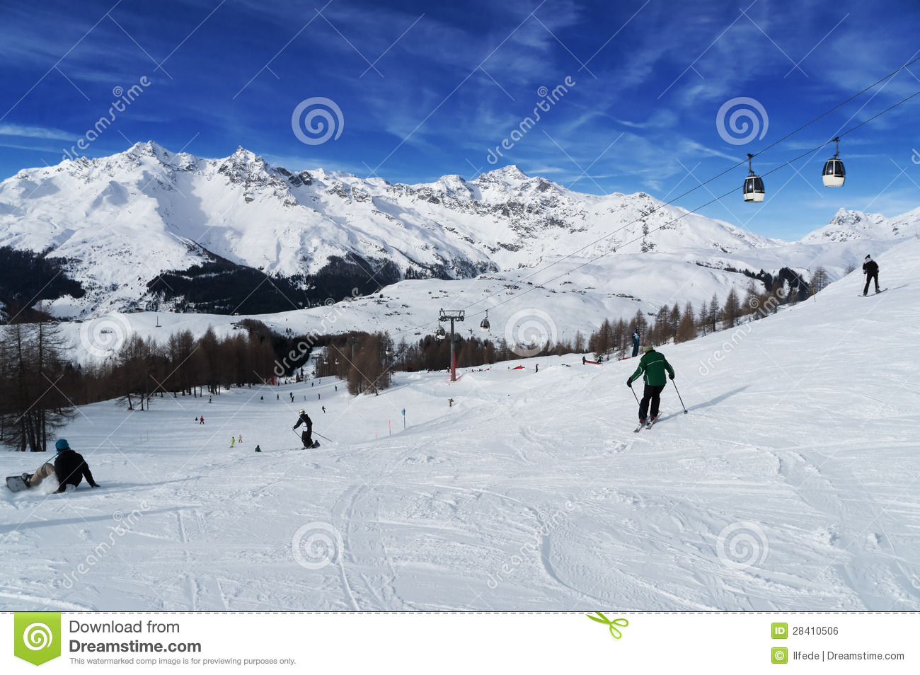Madesimo Italy  city photo : Madesimo Ski Resort. Val Chiavenna. Italy Royalty Free Stock Image ...