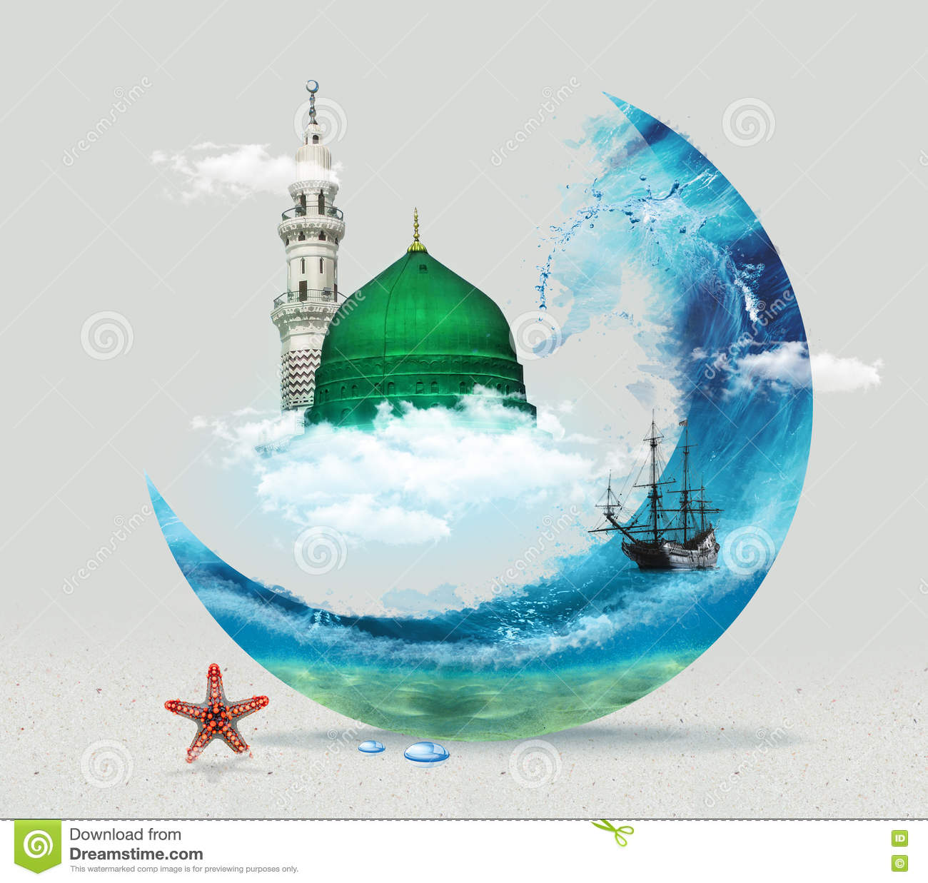 I love saudi arabia in white background cartoon vector for Green plans