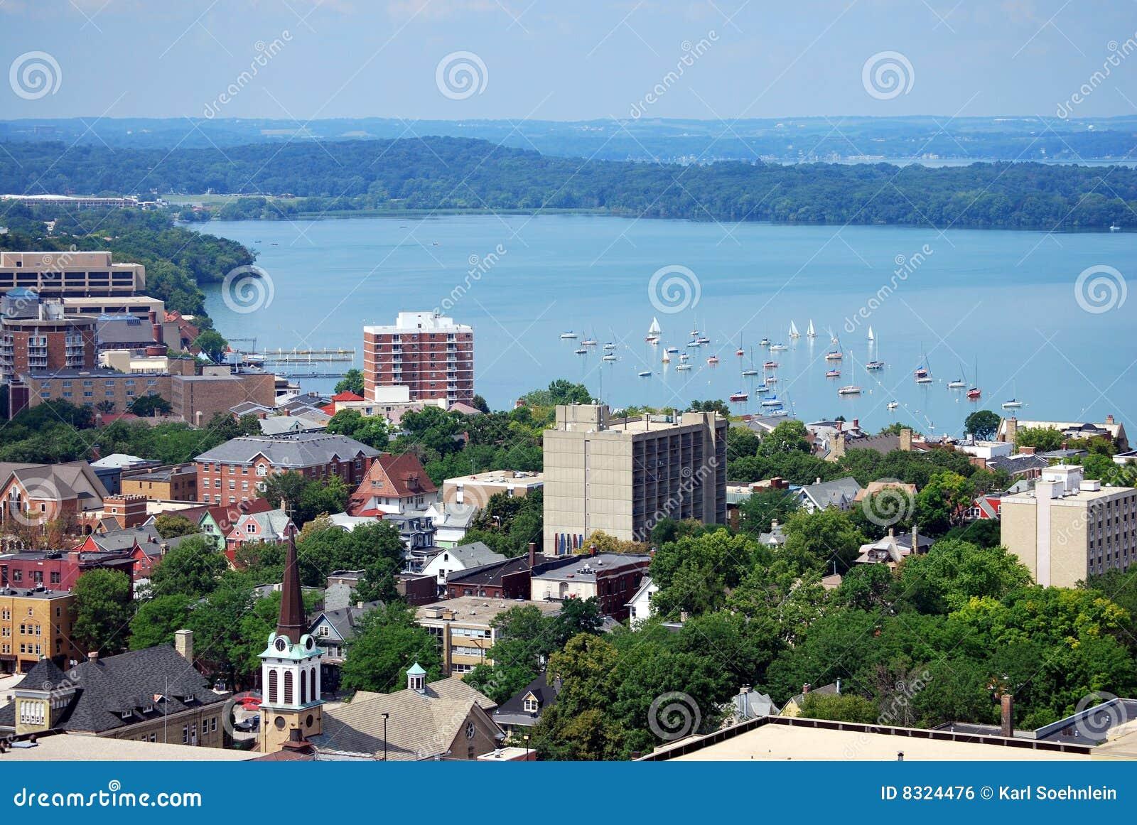 Madison da baixa, Wisconsin