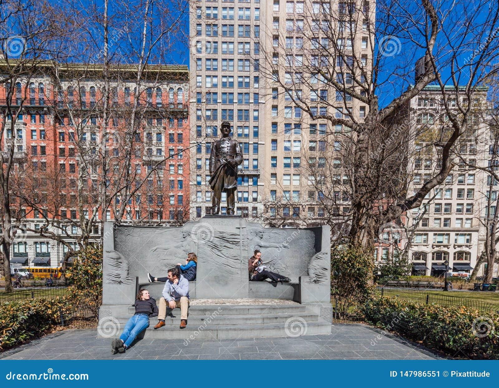 Madison kwadrata parka Manhattan punkt?w zwrotnych Miasto Nowy Jork usa
