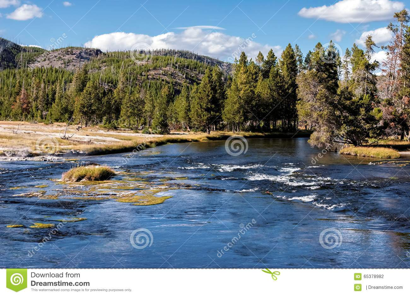 Madison rzeka, Wyoming