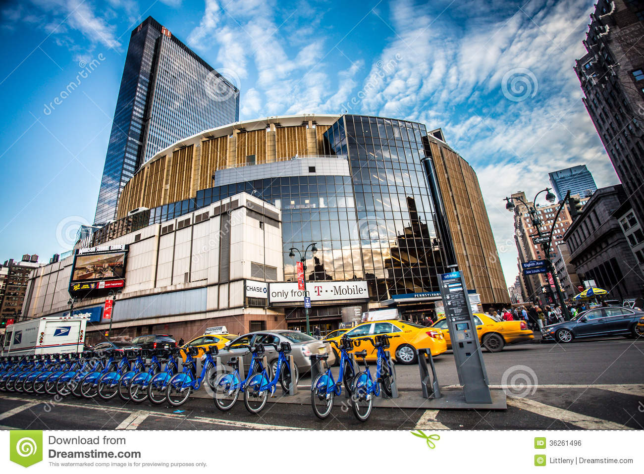 Madison Square Garden Photo Ditorial Image Du Neuf 36261496