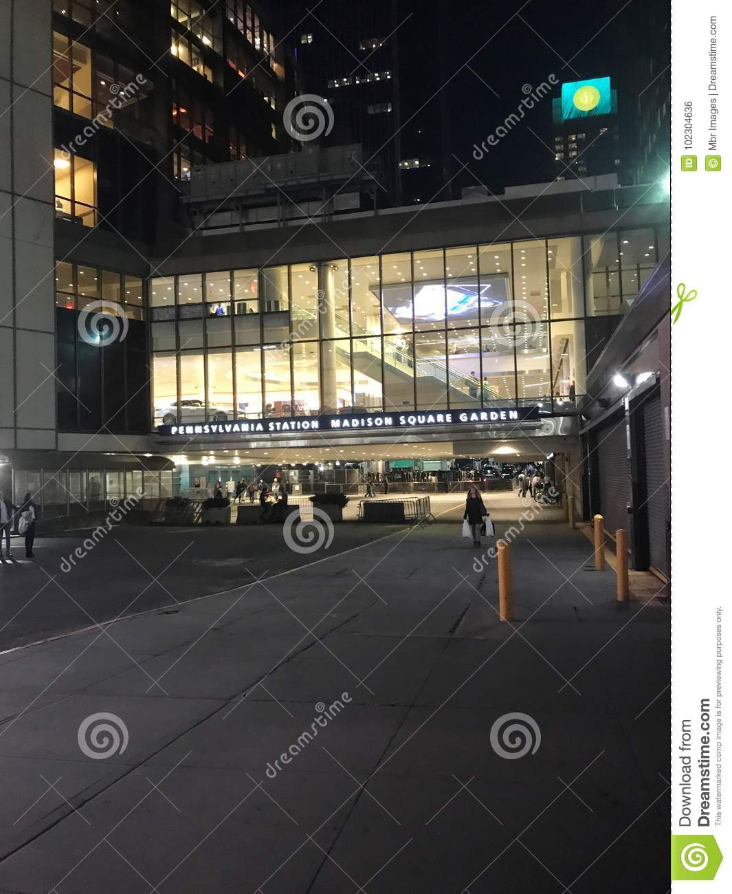 Madison Square Garden Editorial Photo Image Of Stands 102304636