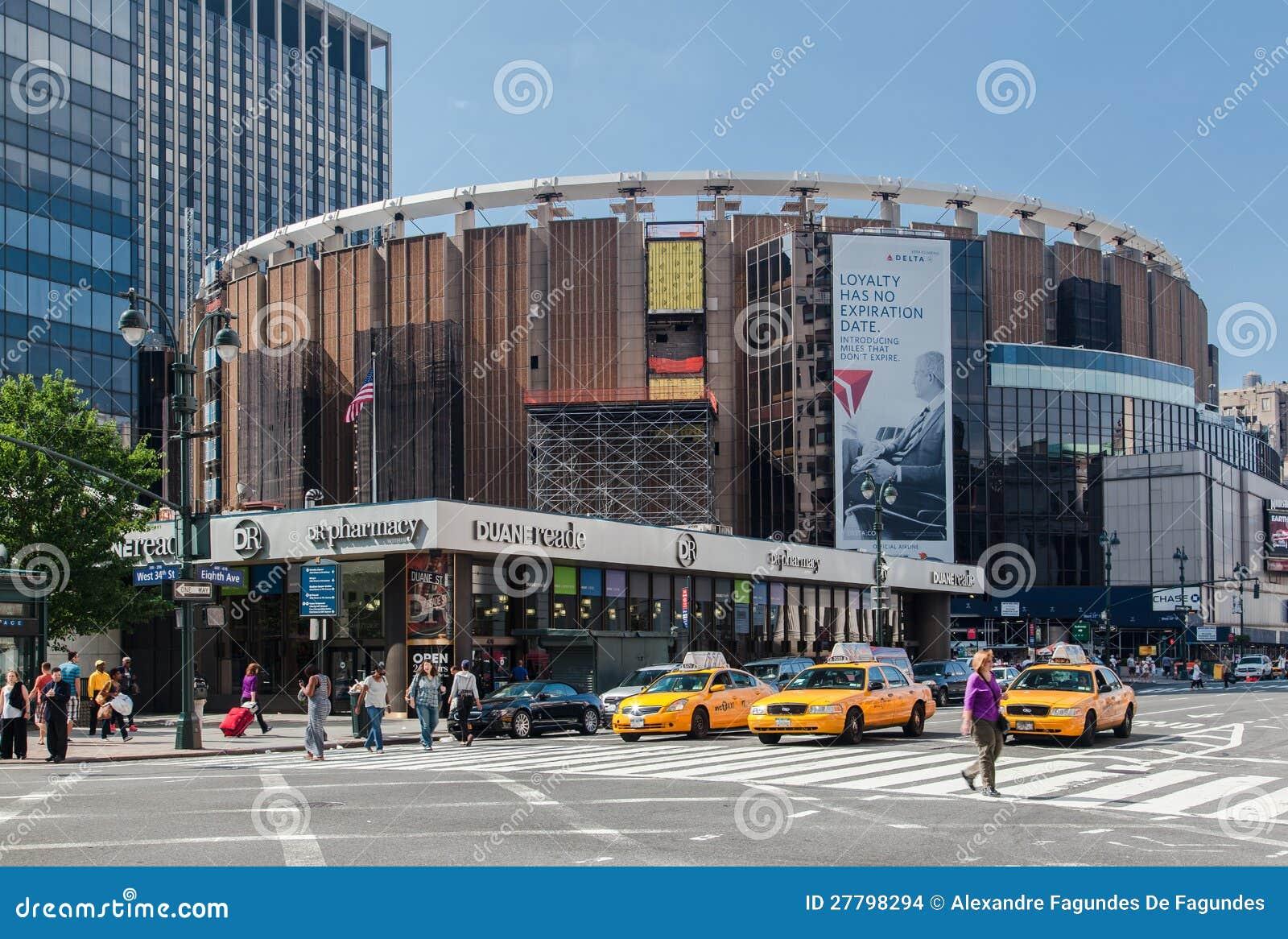 Madison Square Garden New York City Editorial Stock Image