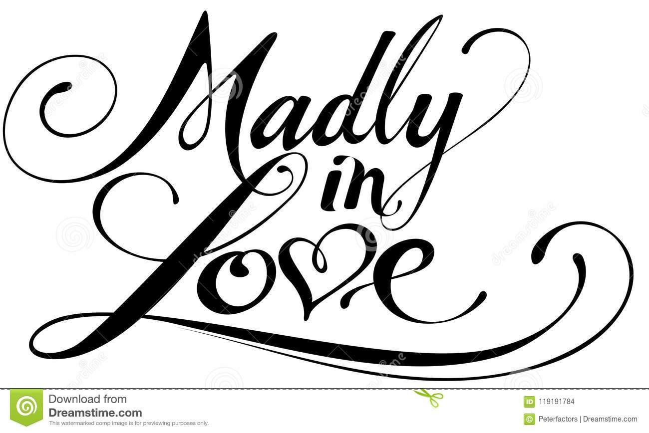 Madly in love