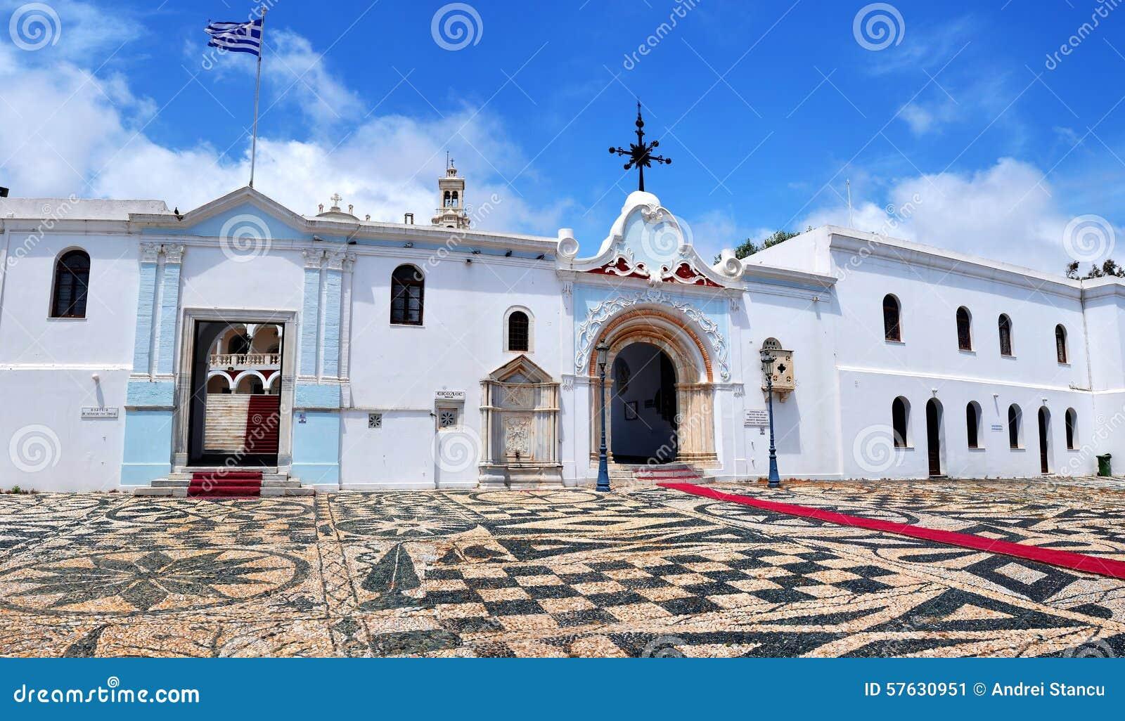 The Madonna Church At Tinos Island Stock Photo - Image ...