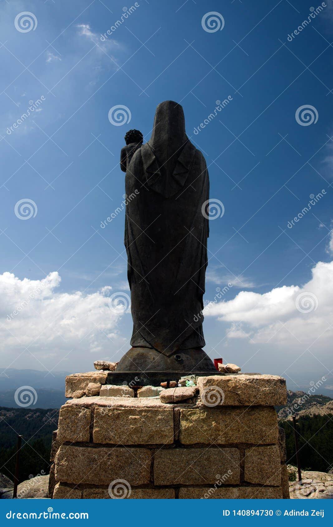 Madonna en las montañas de Cerdeña