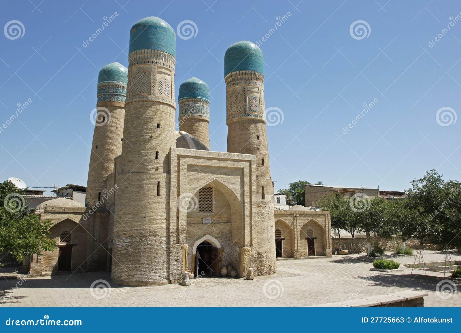 Madrassa Chor Untersatz, Bukhara, Uzbekistan