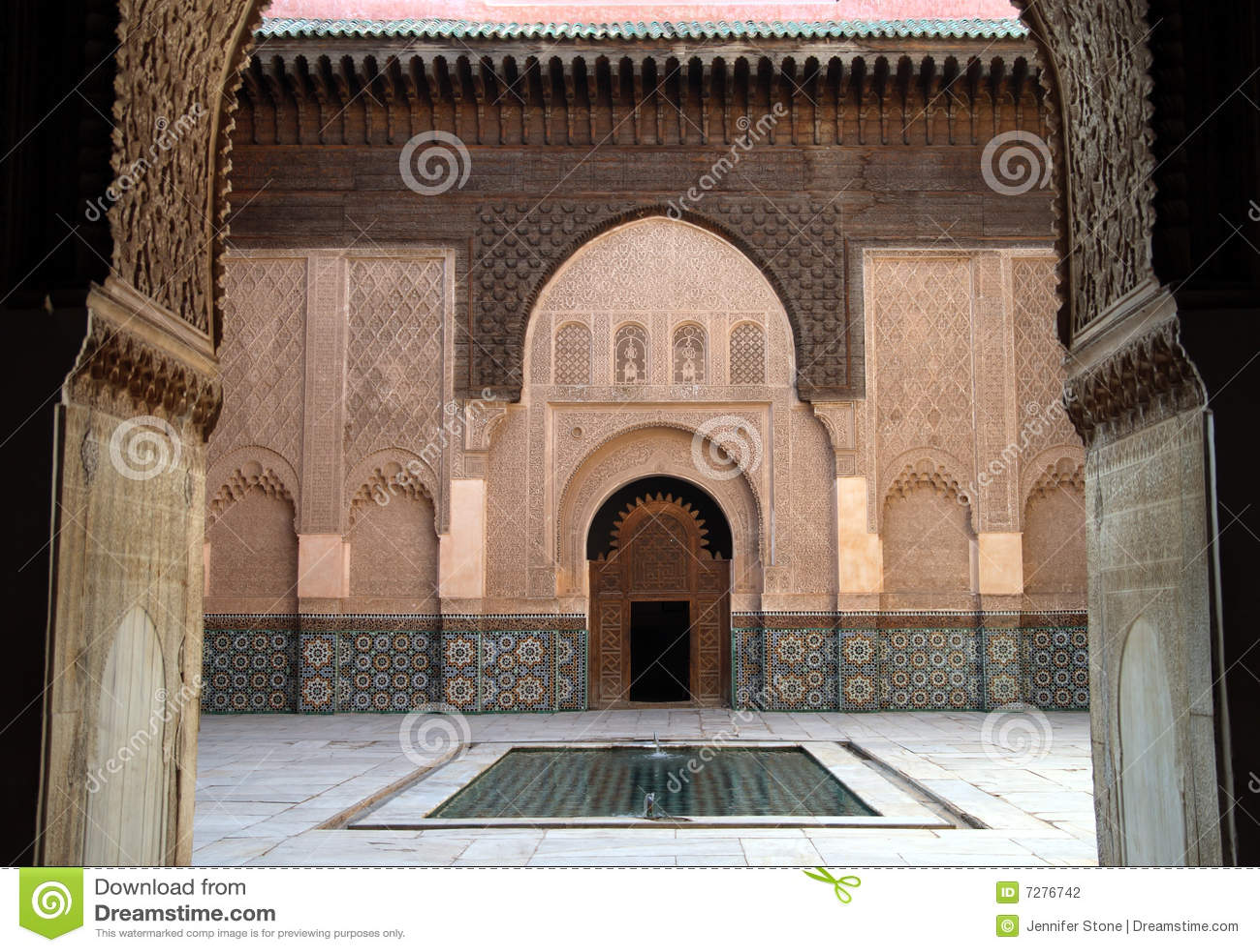 Madrassa en Marrakesh