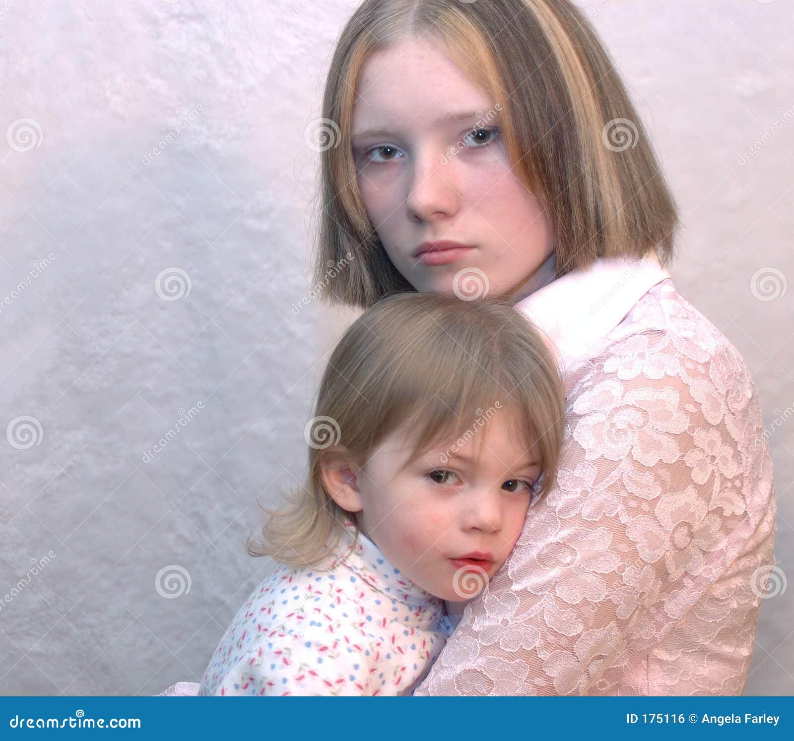 Madre adolescente/sorelle