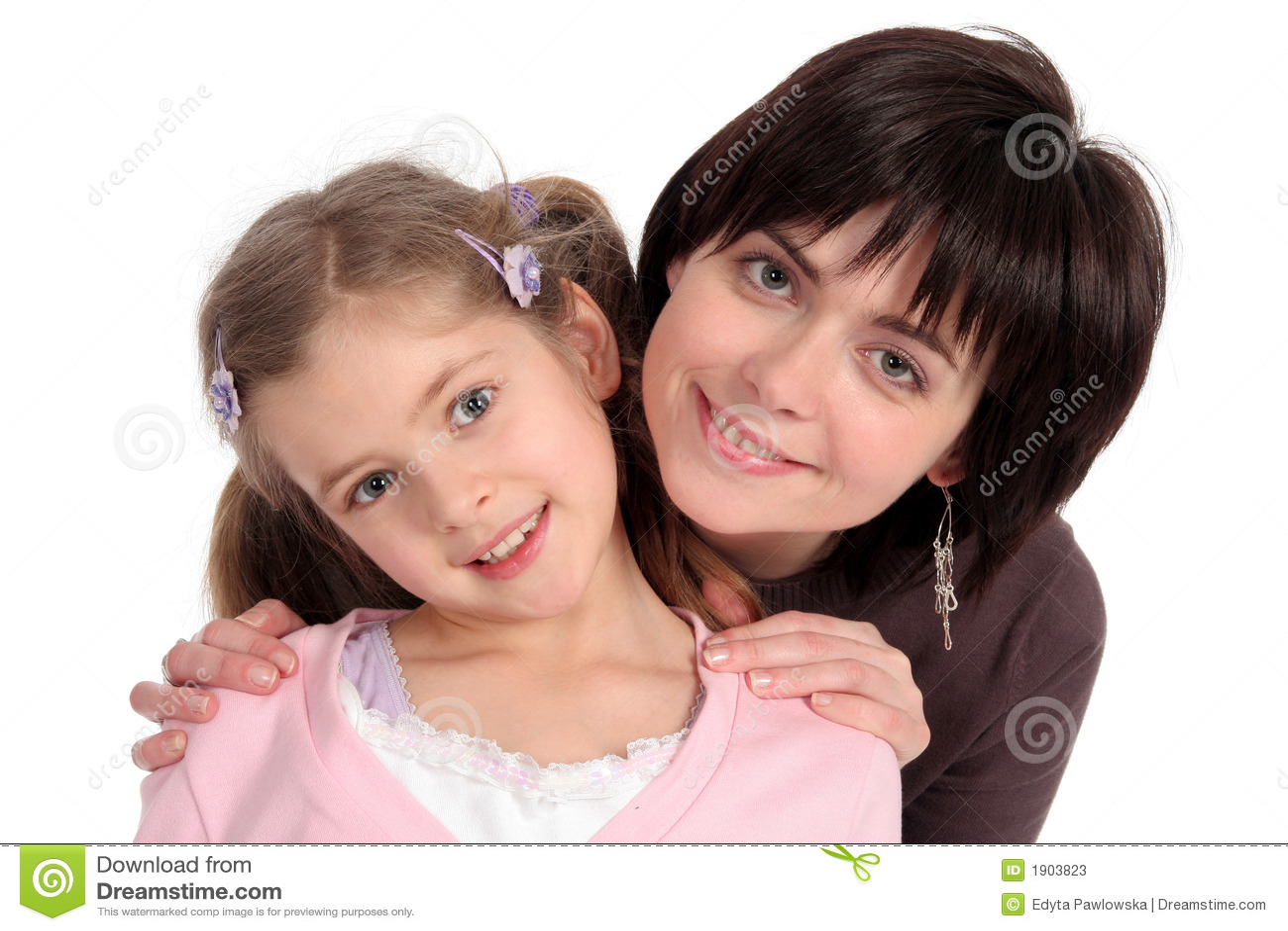 Madre con la figlia