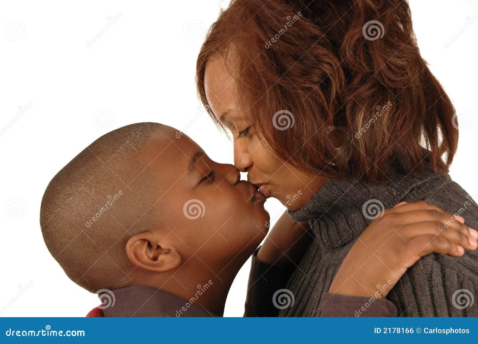 Madre del afroamericano y tan