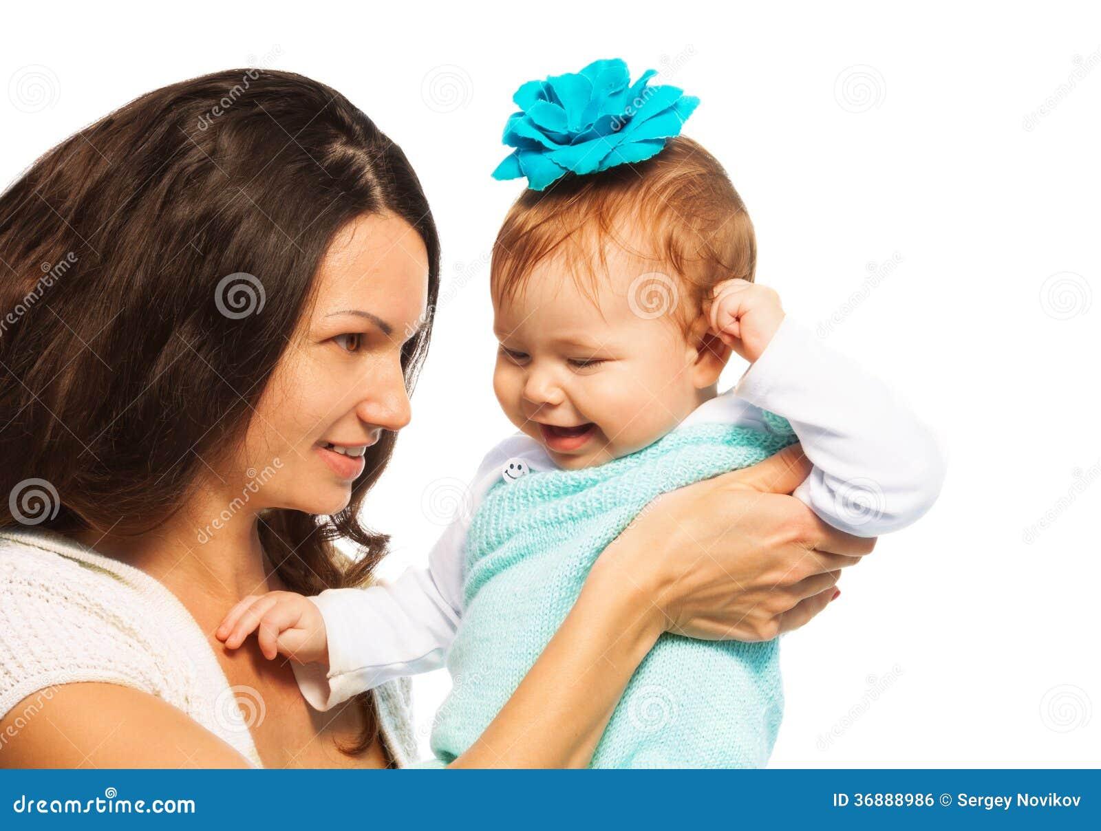 Download Madre e bambino fotografia stock. Immagine di caucasico - 36888986