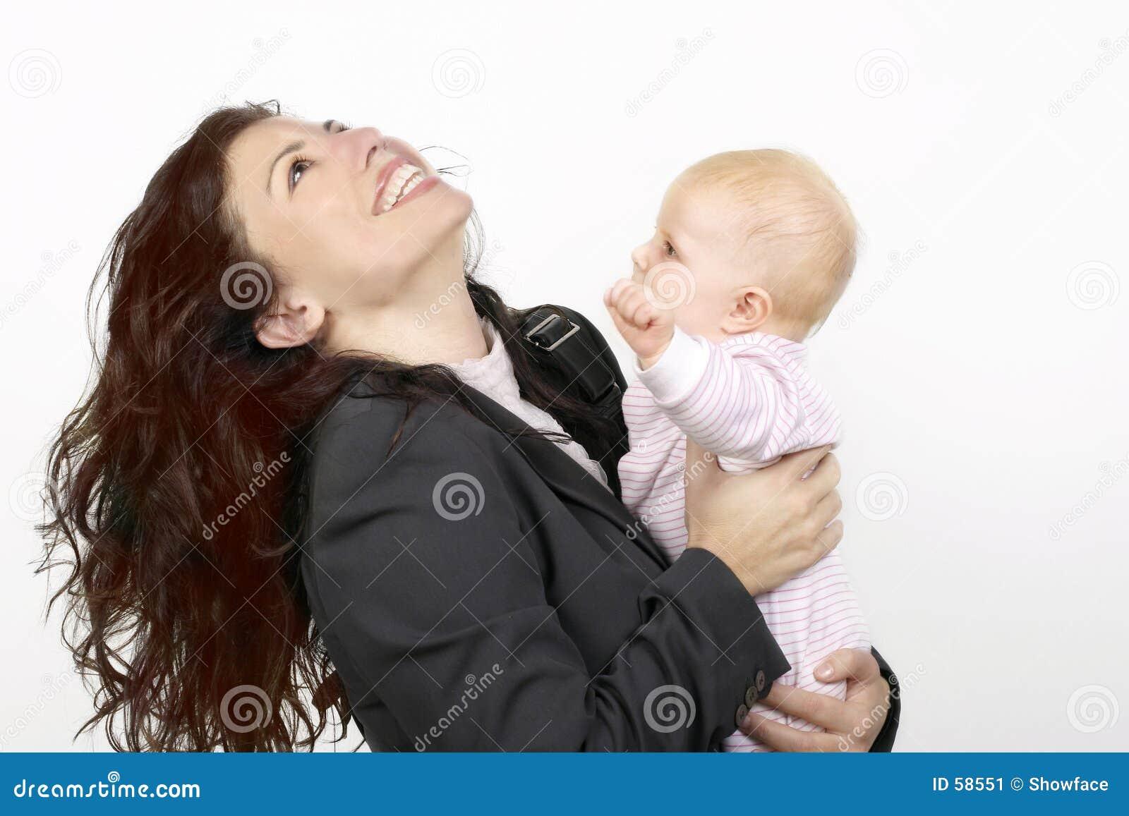Download Madre e bambino immagine stock. Immagine di dipendente, infanzia - 58551