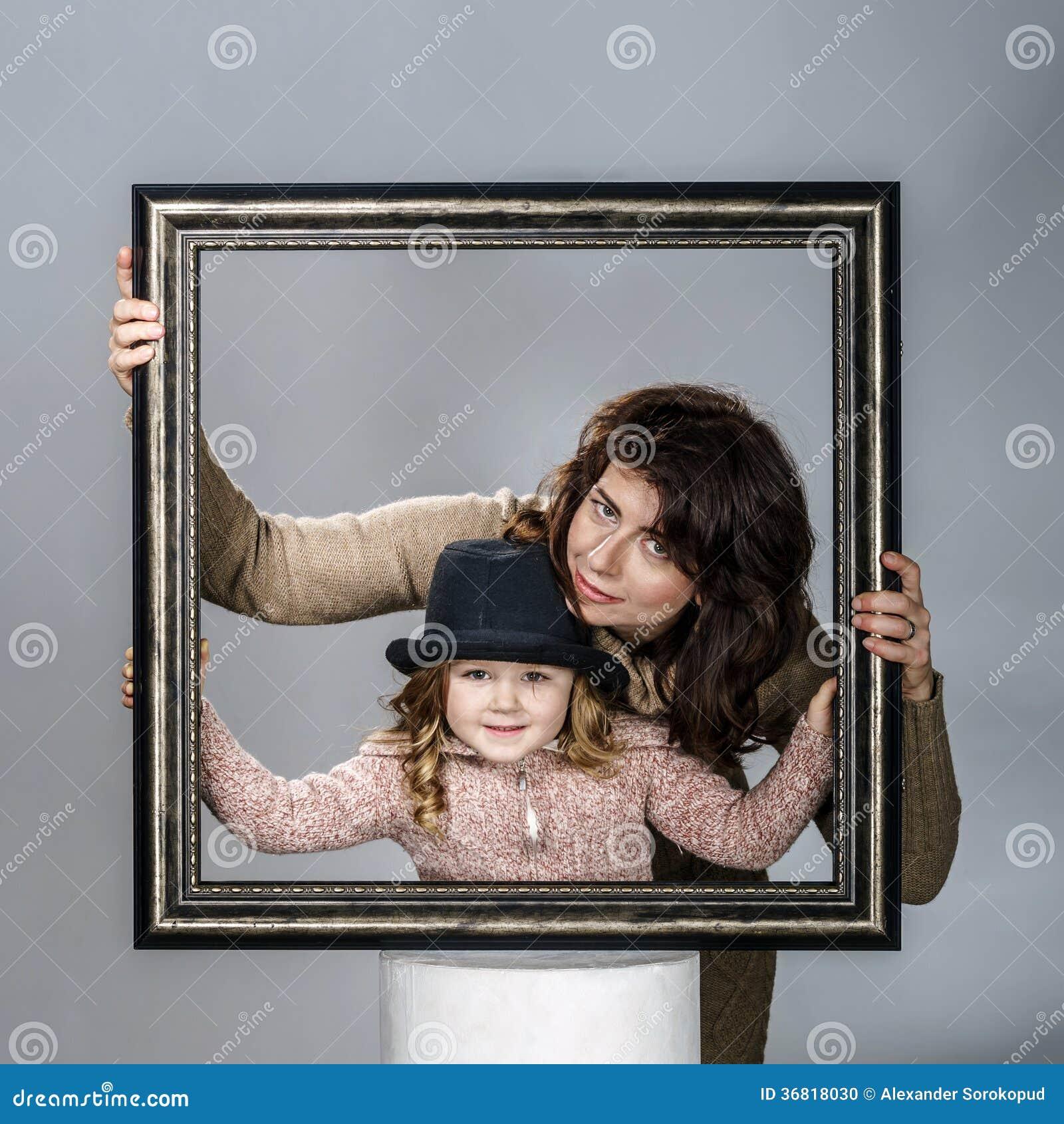 Magnífico Marcos De Cuadros Hija De La Madre Ornamento - Ideas ...