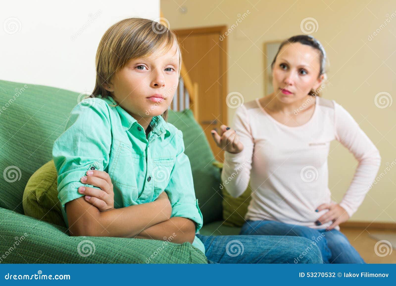 Video maduro e hijo