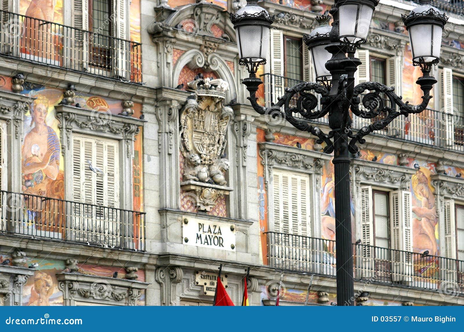 Madrid - alcalde de la plaza