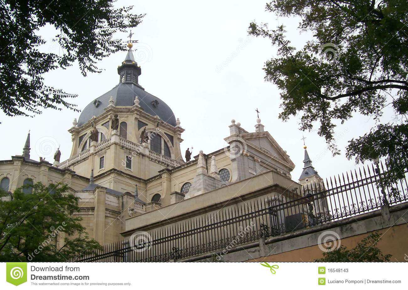 Madrid,basilica Of San Francisco Stock Photos - Image: 16548143