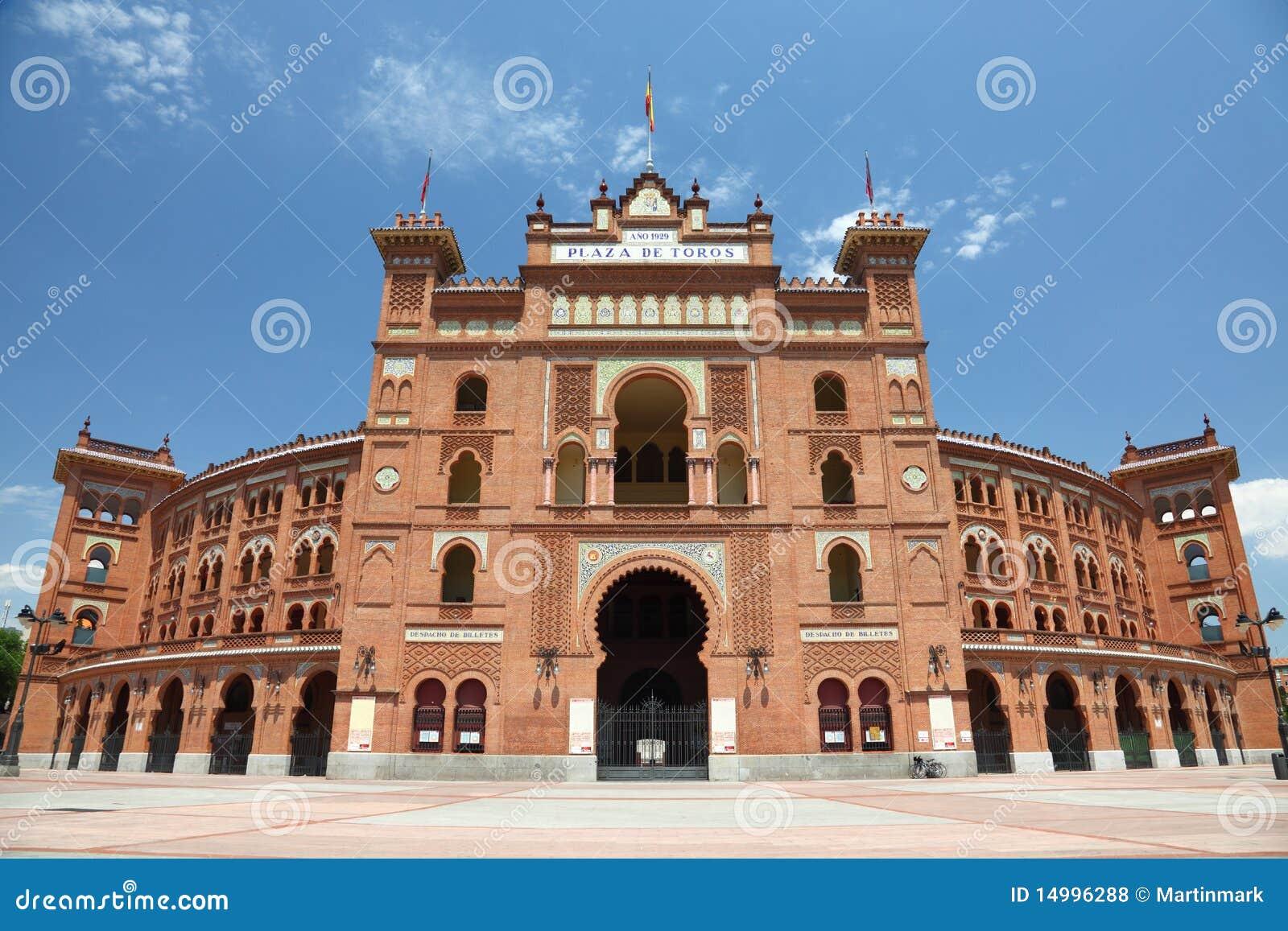 Madrid Bullring Plaza De Toros De Las Ventas Royalty Free ...