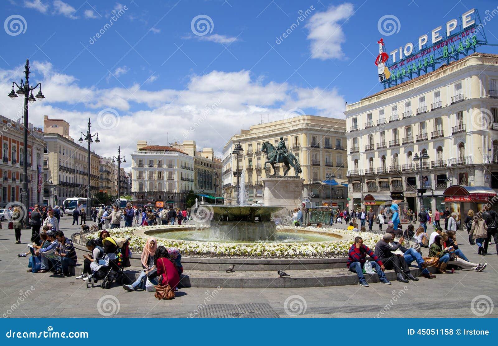 Madrid espa a 28 de mayo de 2014 centro de ciudad de for Centro oftalmologico puerta del sol