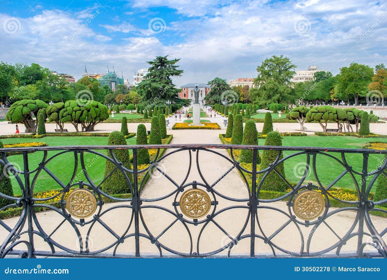 Madrid, het Park van Buen Retiro