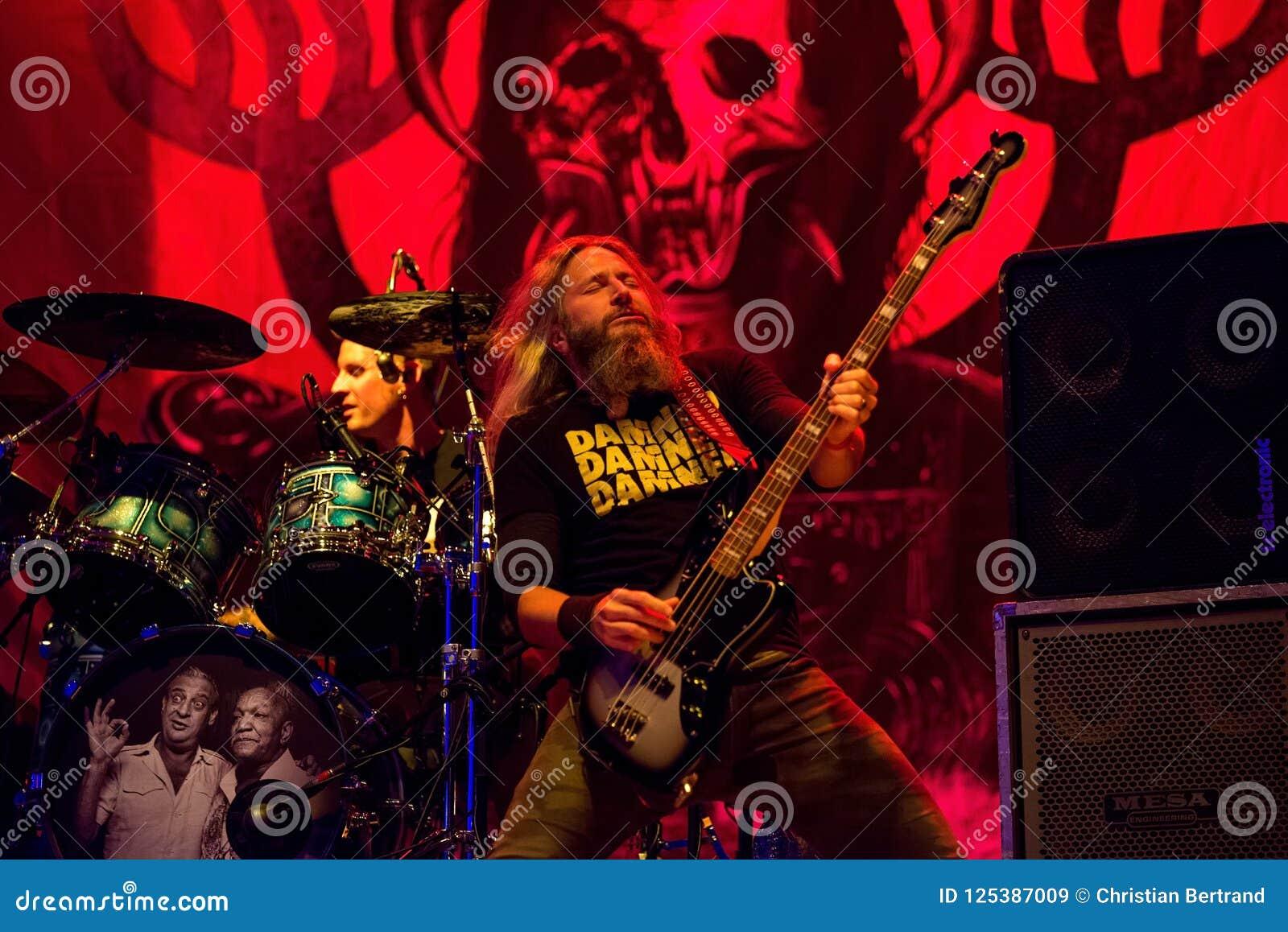 Mastodon Heavy Metal Band Perform In Concert At Download Heavy Metal