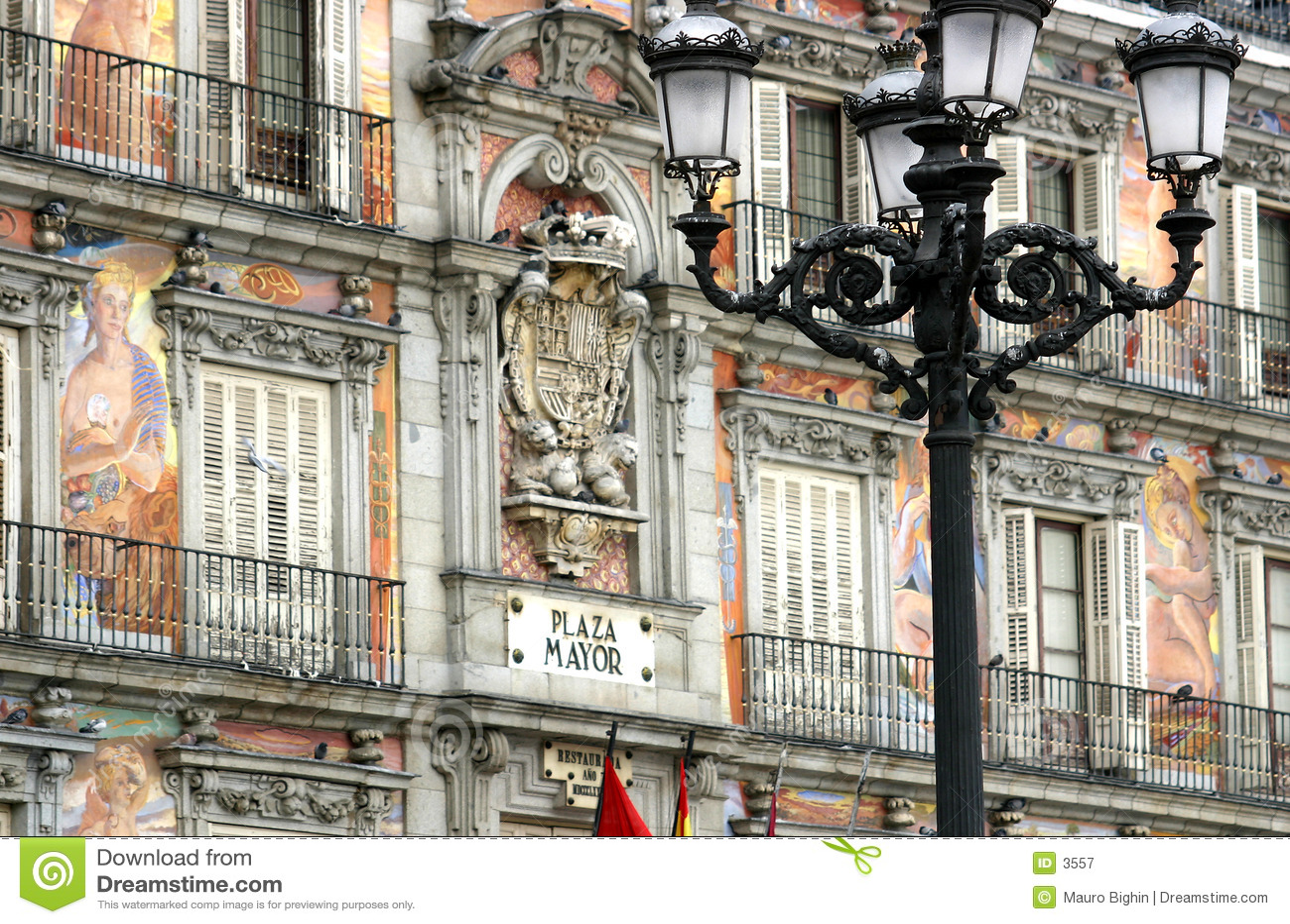 Madrid - Piazza-Bürgermeister