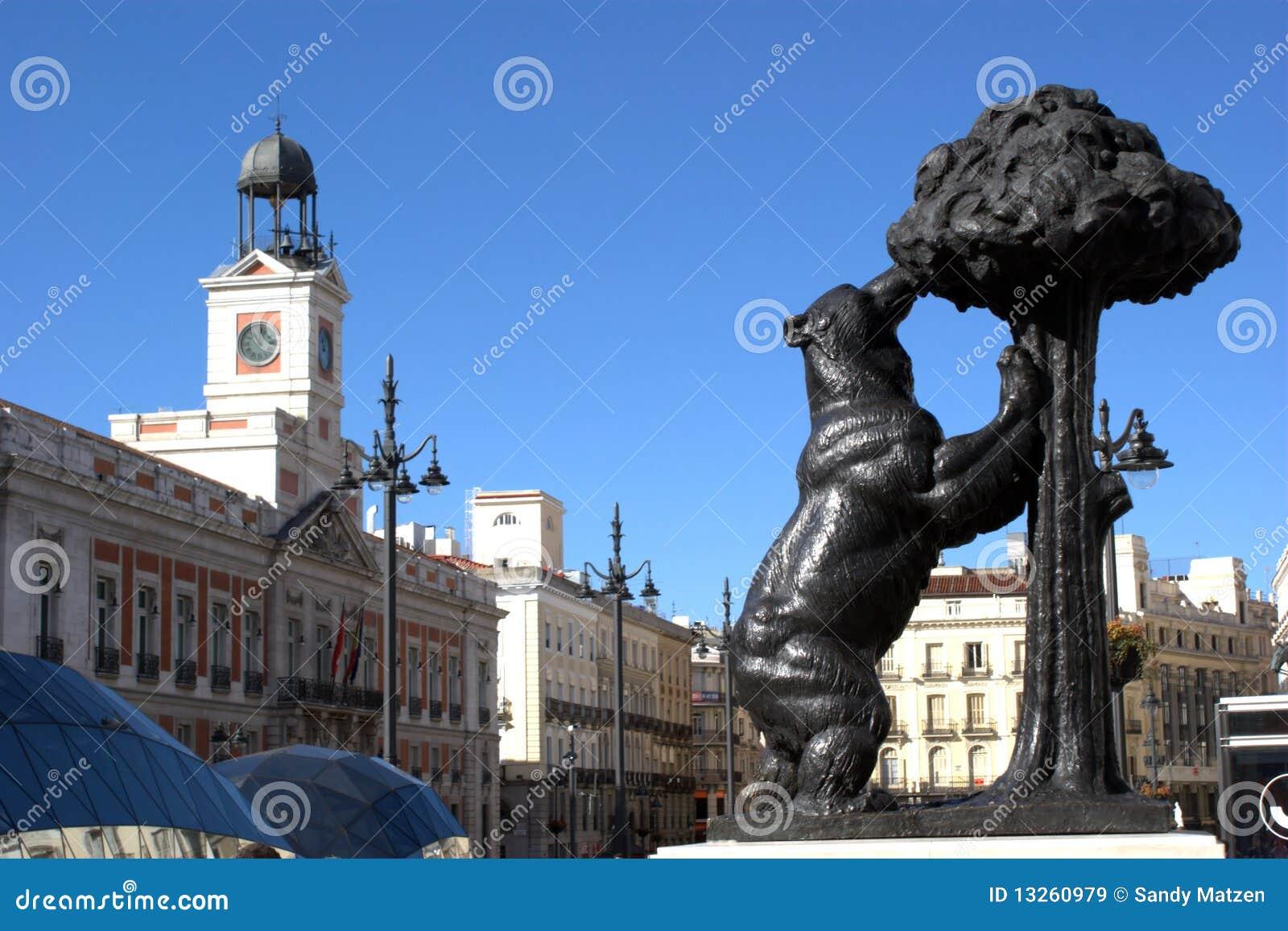 Madrid puerta del sol stock afbeelding afbeelding for Puerta del sol 9 madrid