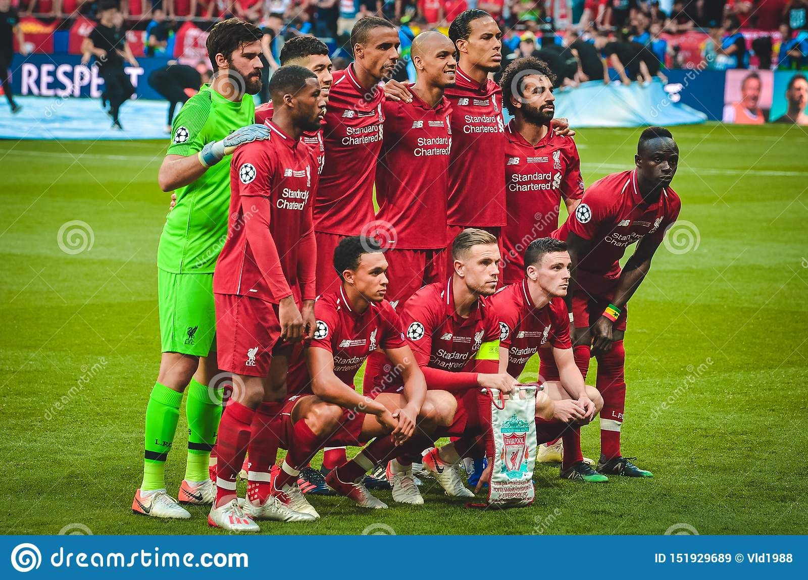 Madrid Spain 01 May 2019 The General Fc Liverpool Team Photo During The Uefa Champions League 2019 Final Match Between Fc Editorial Stock Image Image Of Workout Fans 151929689