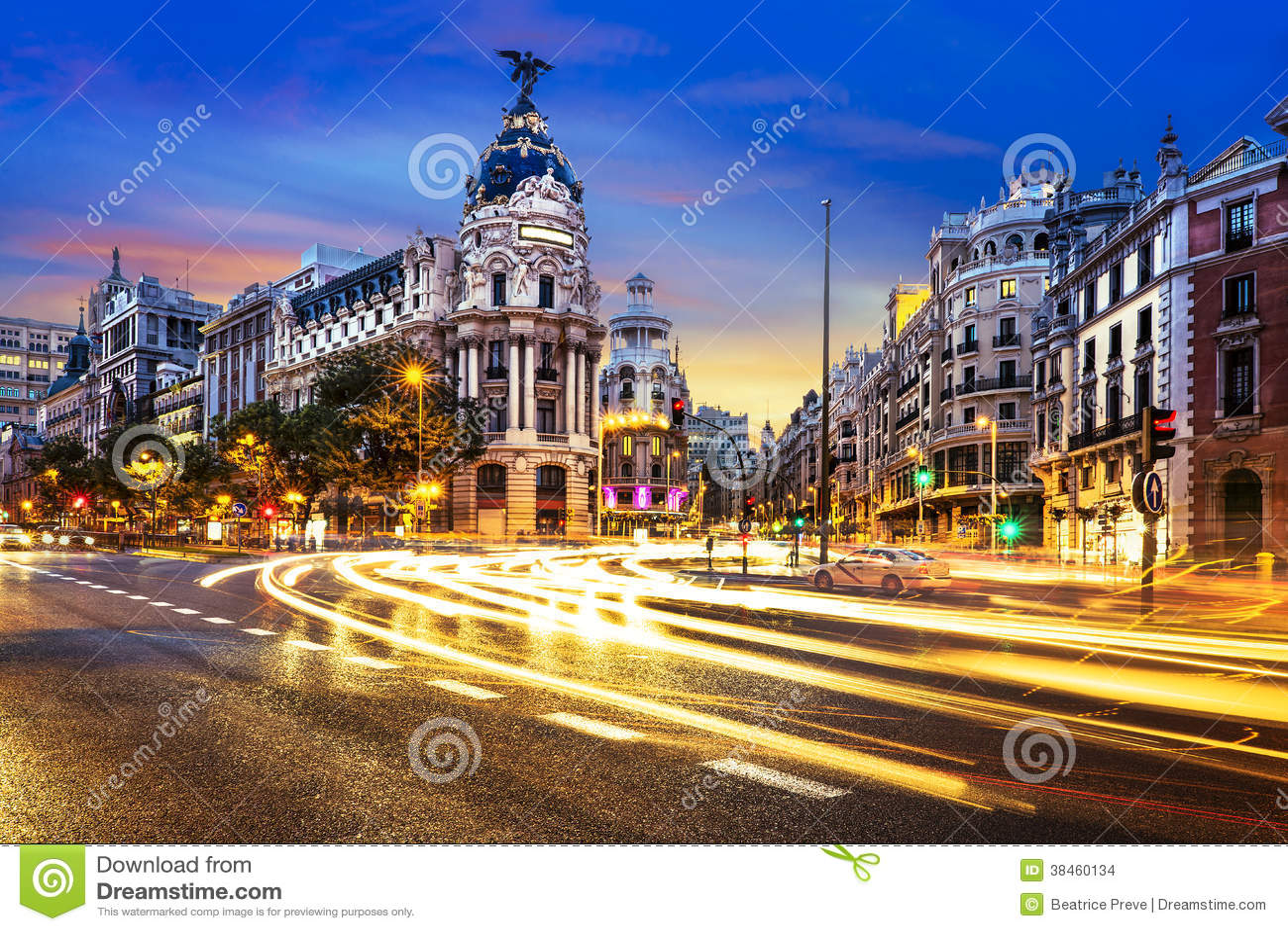 Madrid-Stadtzentrum, Gran Vis Spain