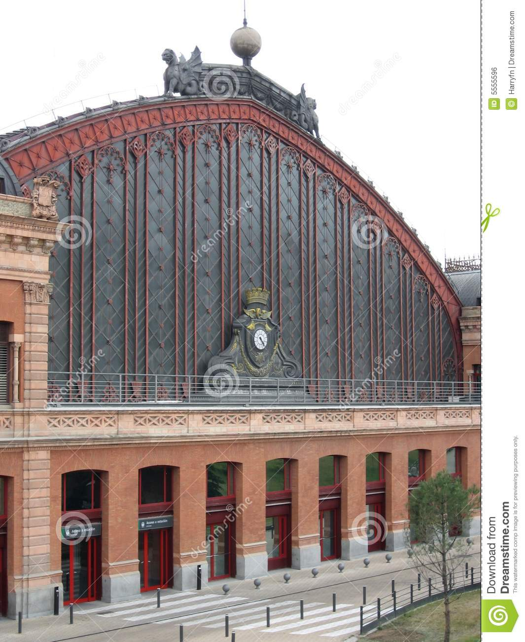 Madrid train station