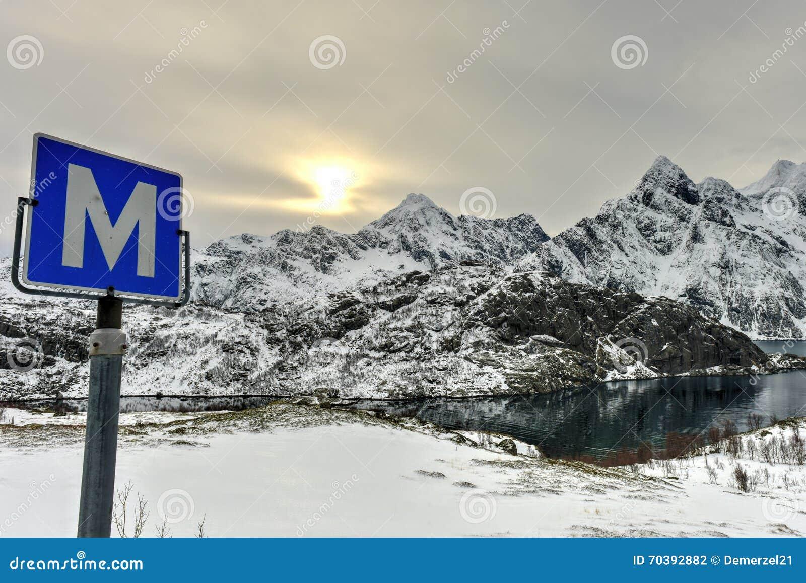Maervoll, острова Vestvagoy - Lofoten, Норвегия