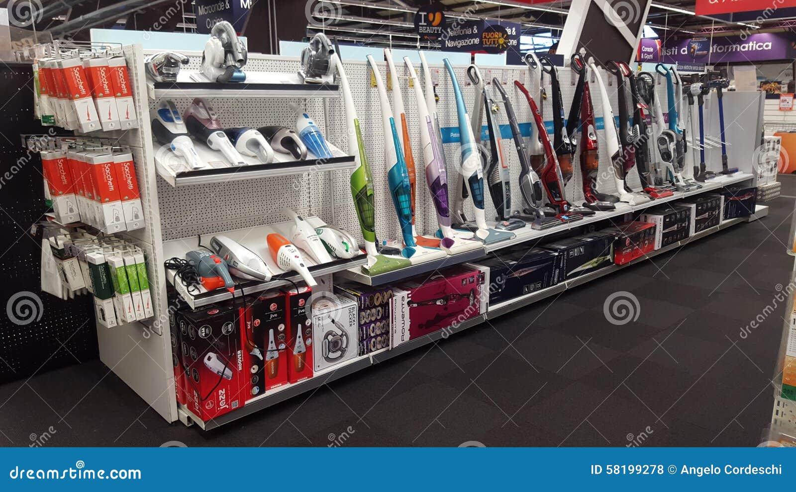 Magasin d électro-ménagers Ventes des aspirateurs