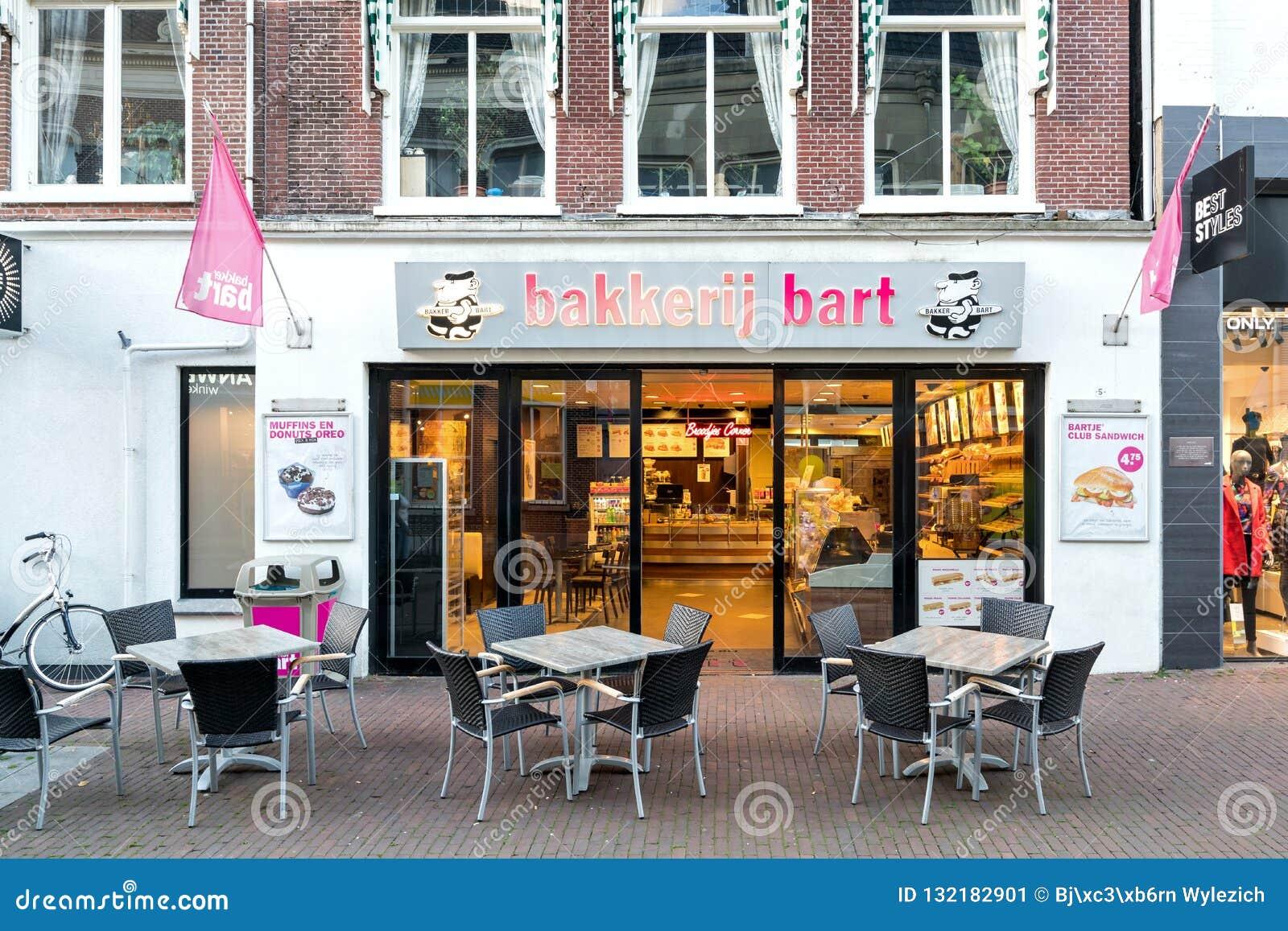 Magasin de Bakker Bart dans Sneek, Pays-Bas