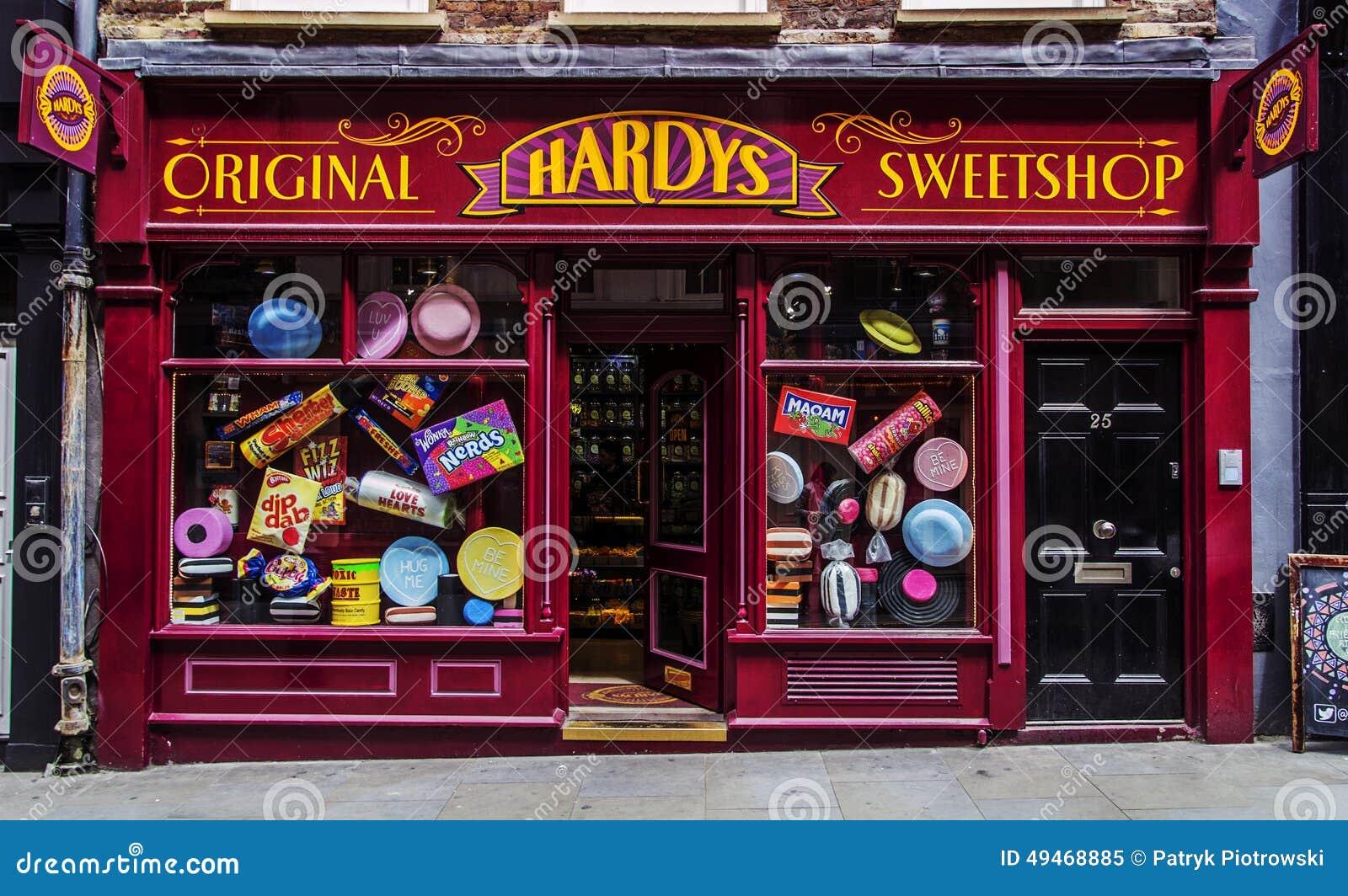 Magasin de bonbons hardys sweetshop de londres d 39 architecture image dito - Magasin de luxe londres ...