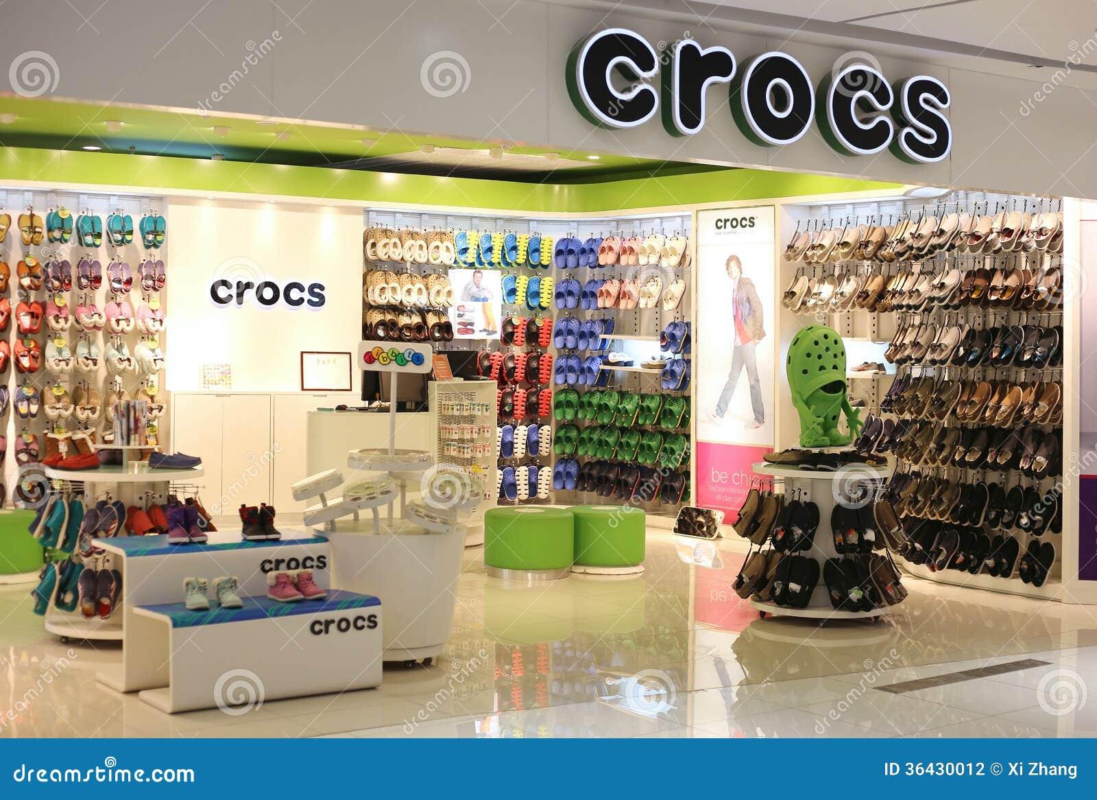 Crocs ÉditorialImage 36430012 Achats Du De Magasin Photographie uZXkiOP