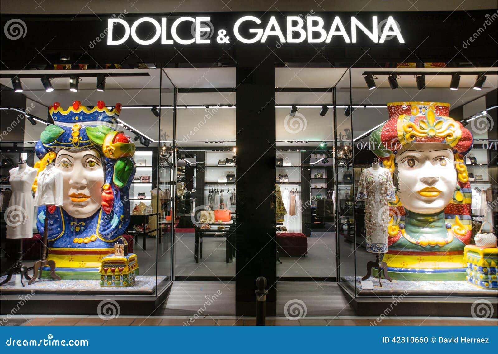 aa42cb1aece56 Magasin De Dolce Et De Gabbana Dans Puerto Banus, Marbella, Espagne ...