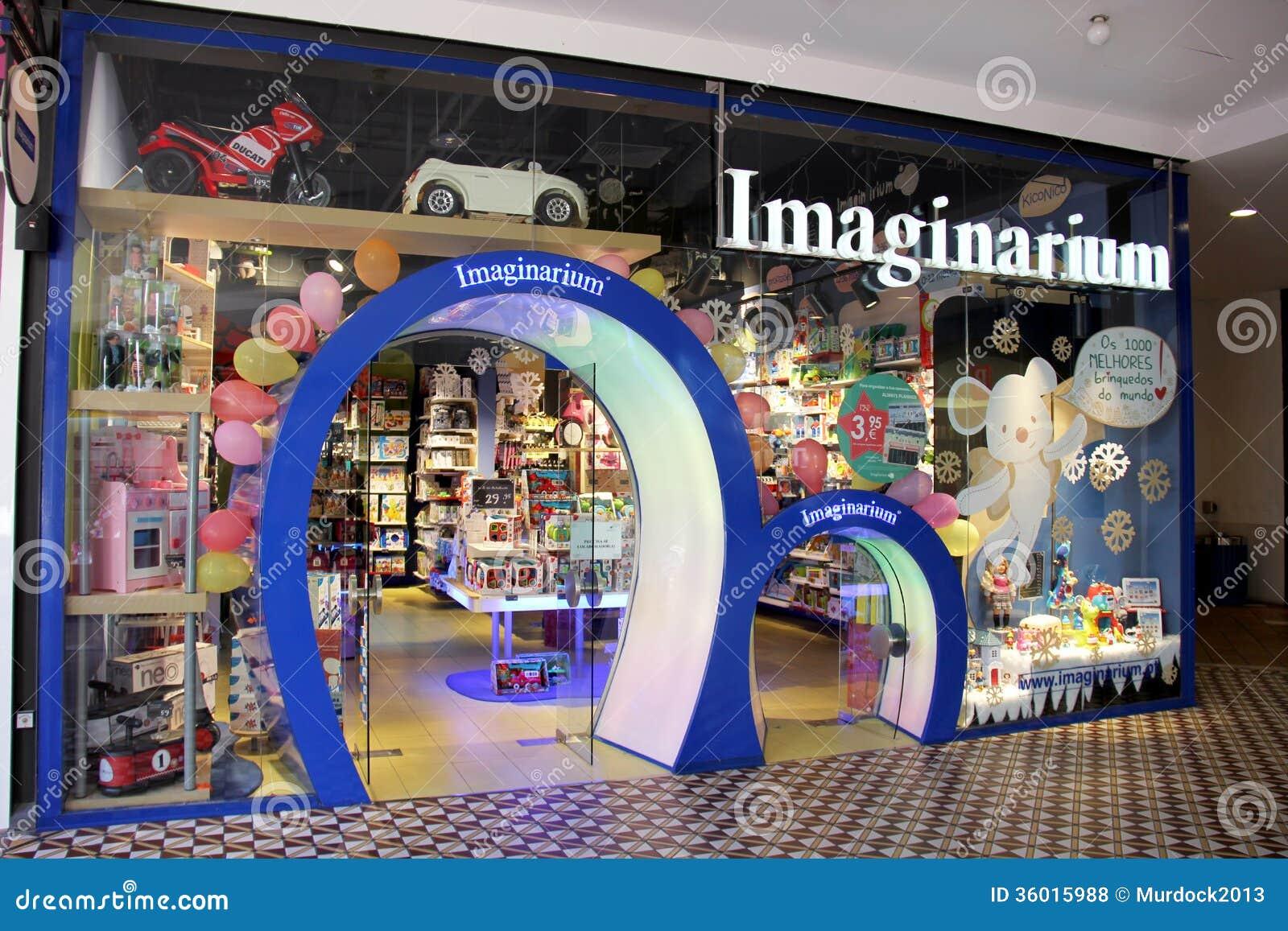 magasin de jouet d 39 imaginarium photo stock ditorial image du cadeau gosse 36015988. Black Bedroom Furniture Sets. Home Design Ideas