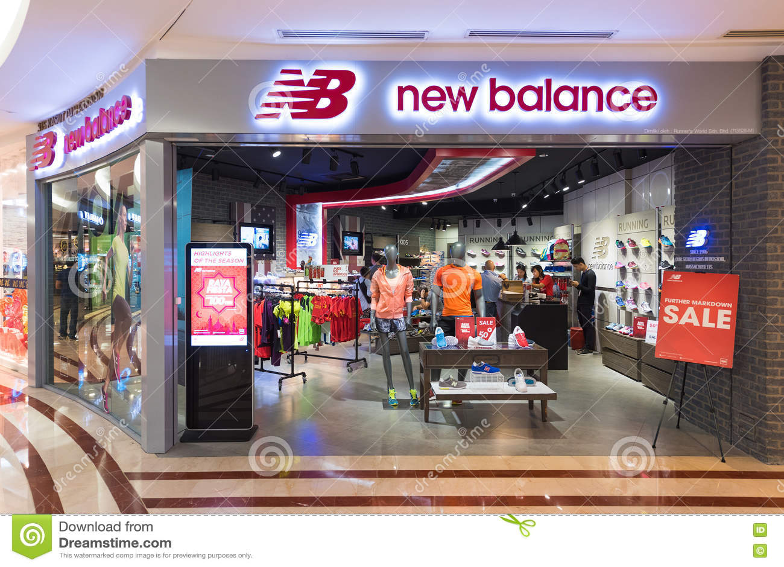 magasin qui vend des new balance