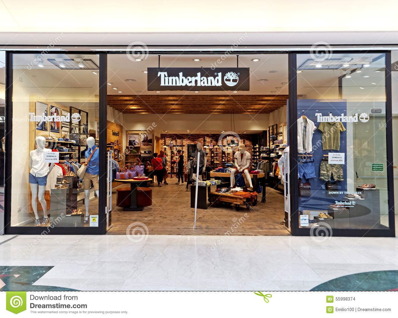 magasin timberland