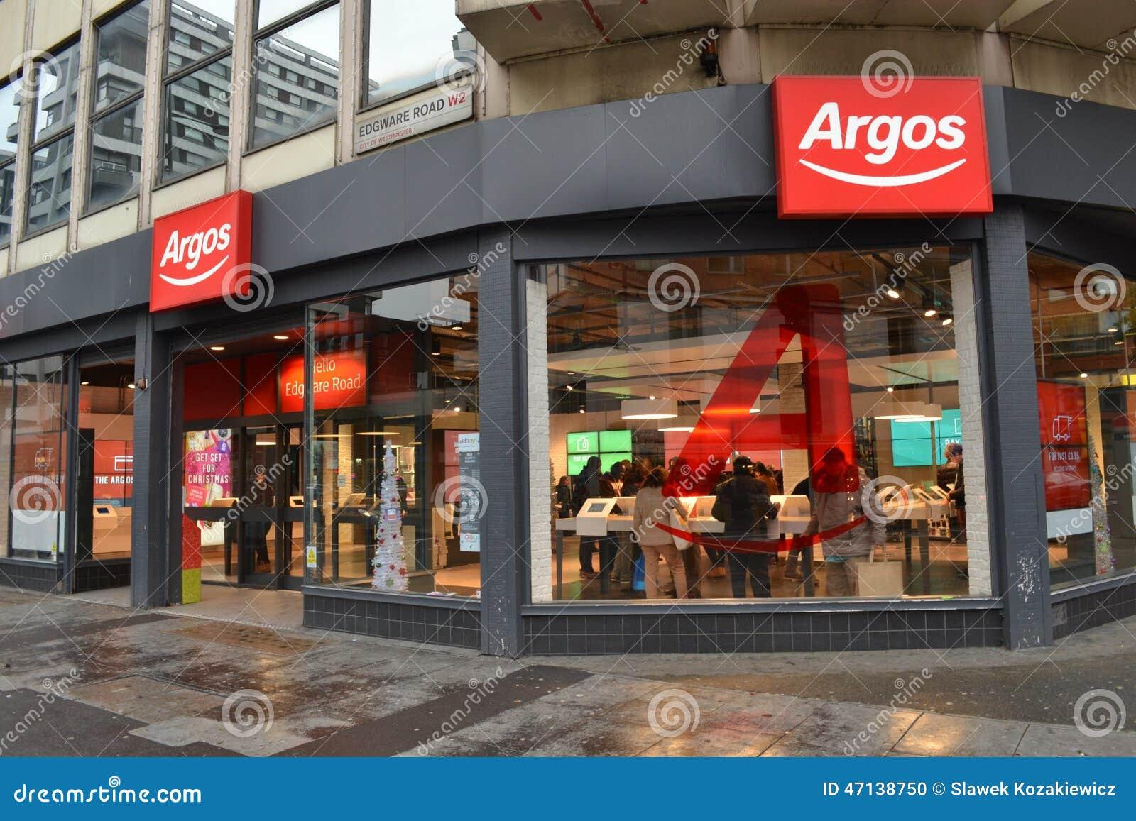 Magasin Londres d Argos