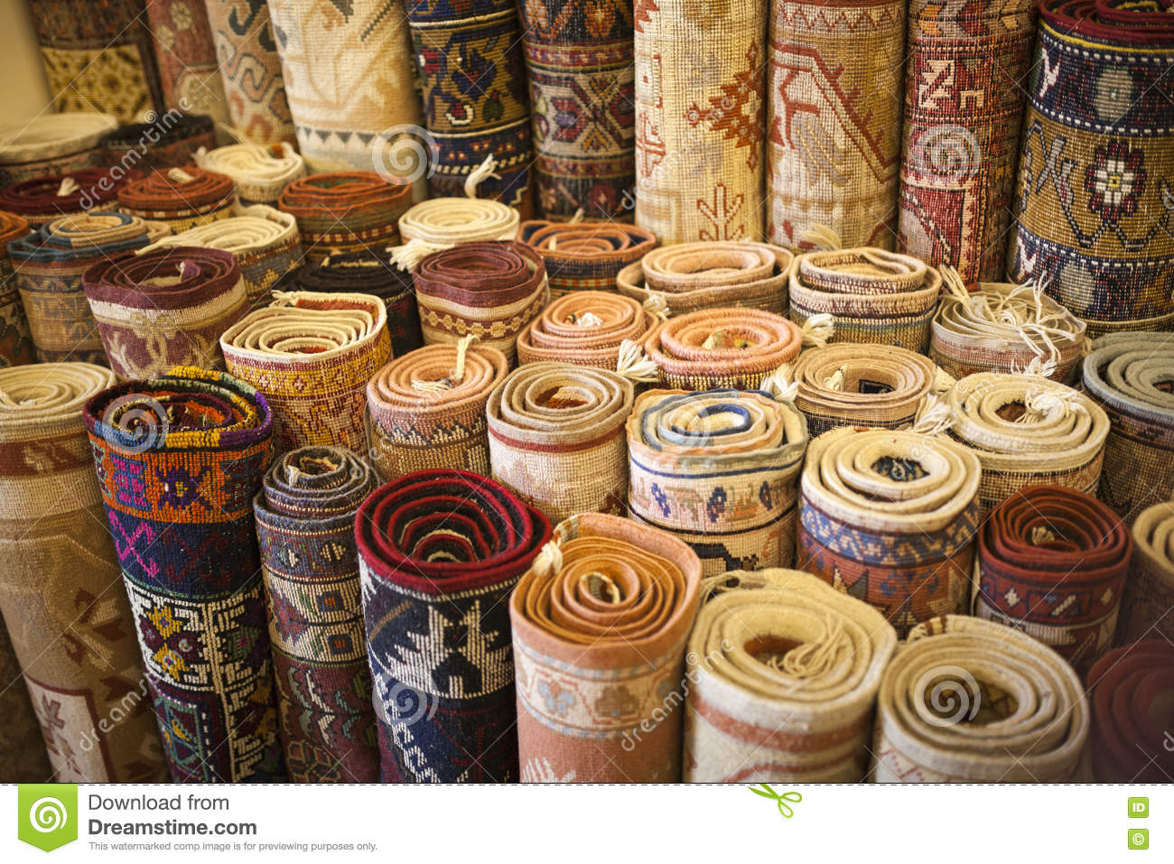 Magasin turc de tapis photo stock image 73862578 - Tapis de sol magasin but ...