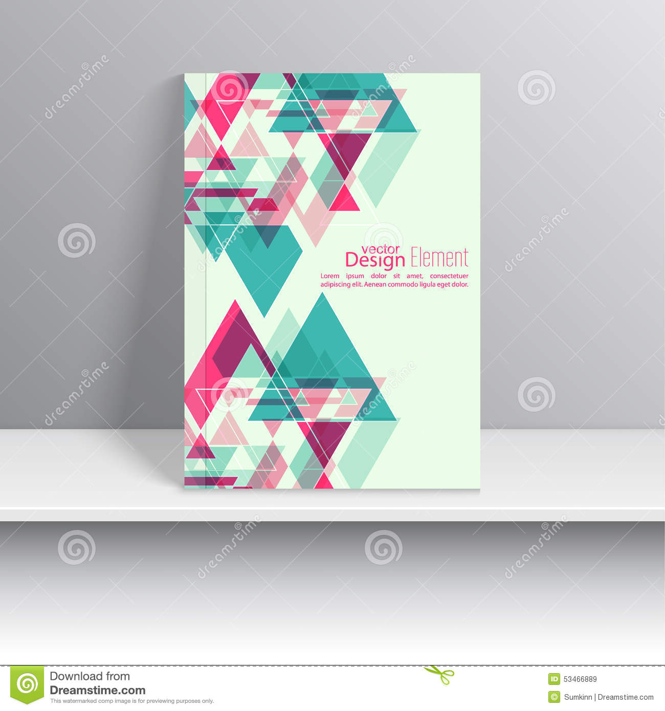 Magazine Cover Stock Vector Image Of Brochure Catalog