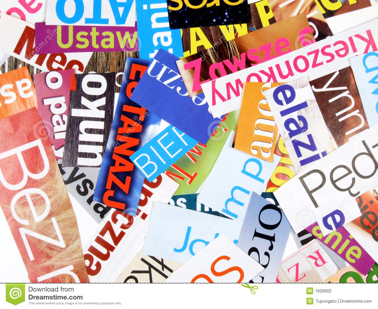 magazine cuttings incomplete words stock photography newspaper clip art printable newspaper clipart png