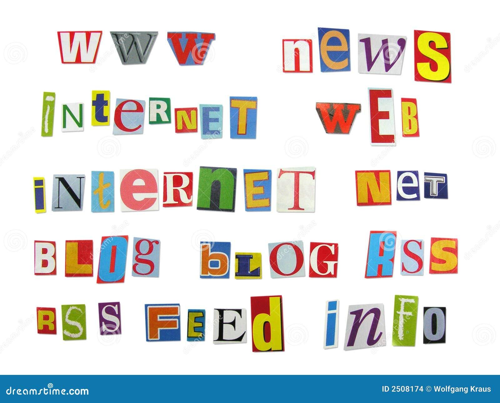 Magazine letters stock photo image of feed media letter 2508174 magazine letters feed media publicscrutiny Choice Image