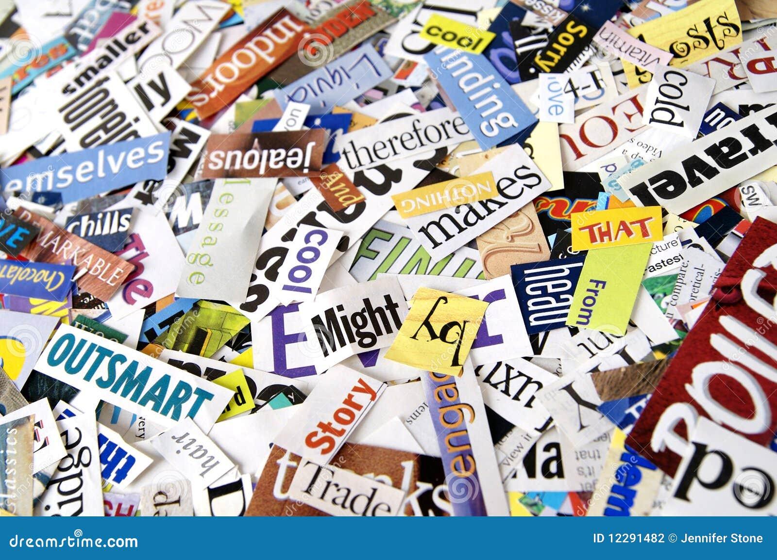 Magazine word background stock photography image 12291482 - Royalty Free Stock Photo Background Colorful Magazine Paper Word